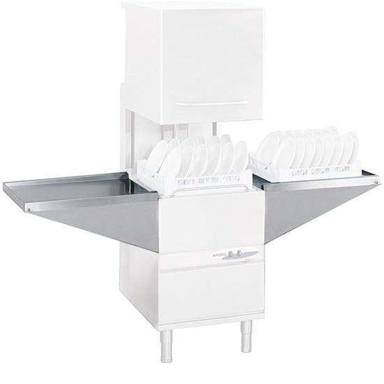 Auslauftisch oder Zulauftisch für Spülmaschinenkörbe