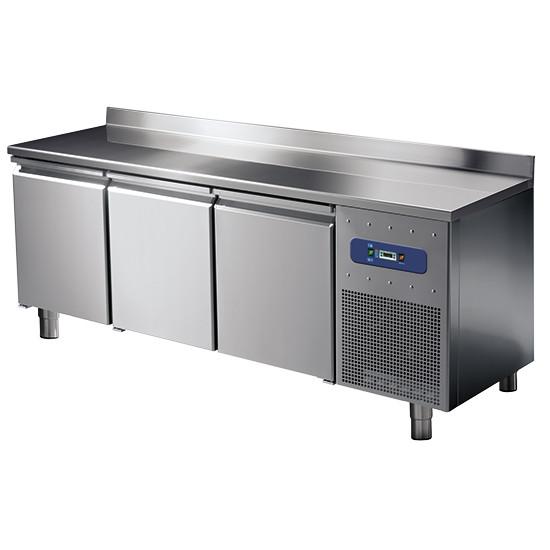 CNS Kühltisch 3-türig mit Aufkantung -2 °C/+8 °C