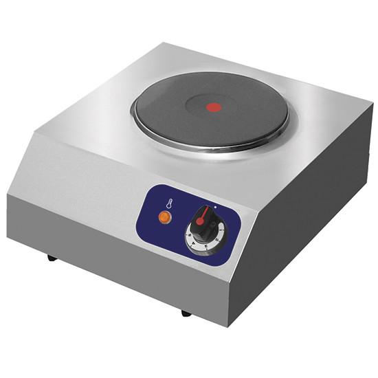 Elektro-Einzelkochtafel, 1 runde Platte 2 kW