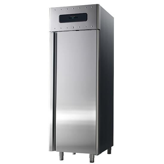 Bäckereikühlschrank 600x400 mm 700 Liter aus Edelstahl, -2 °C/+8 °C