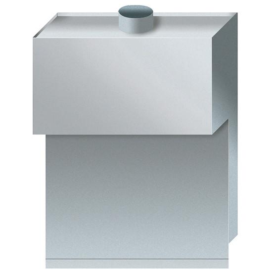 Abzugskamin für Gas-Kochkessel