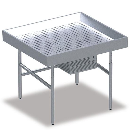 Fischkühltheke, B=2500 mm