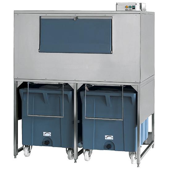 Eiswürfelbehälter auf Rädern, 300+2x108 kg, für KUEI EF01 109