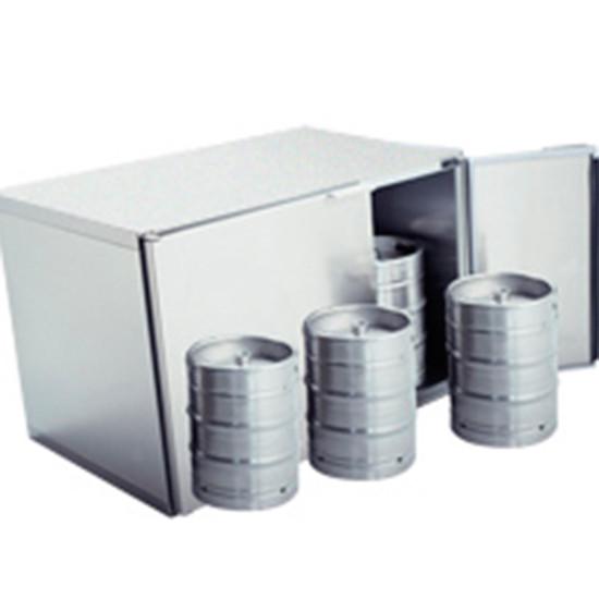 Fässerkühlbox ohne Aggregat, 6x 50 Liter
