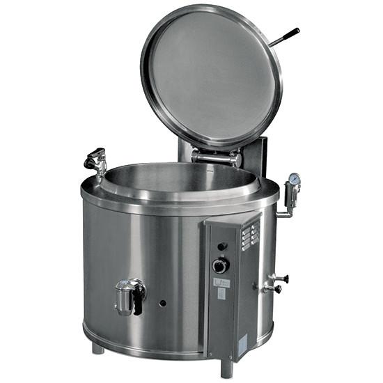 Elektro-Kochkessel, runde Version, indirekte Beheizung, 300 Liter