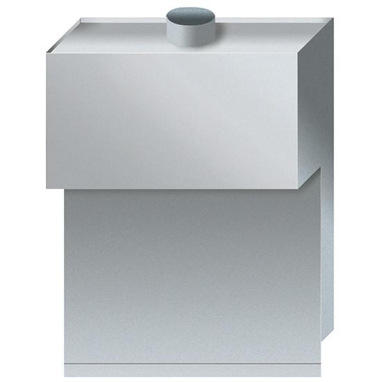 Abzugskamin für Gas-Nudelkocher