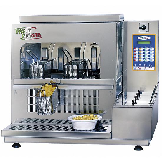 automatischer Nudelkocher mit 4 Körben, Tischmodell