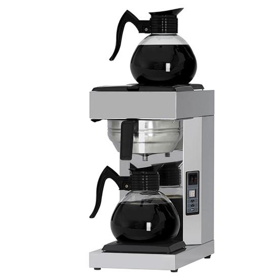 Filterkaffeemaschine, automatisch, 2 Glaskannen 1,8 Liter