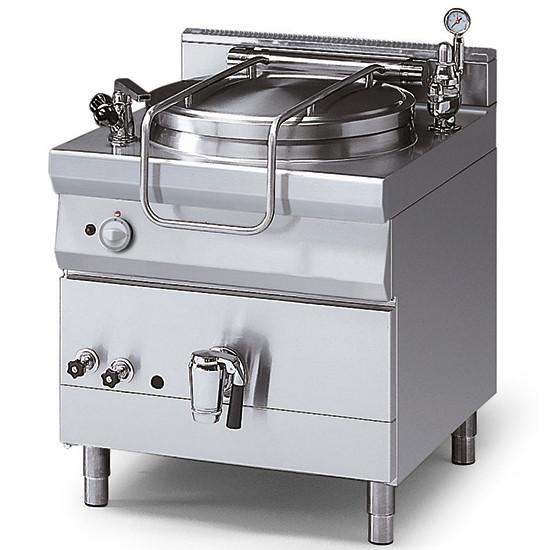 Gas-Kochkessel, indirekte Beheizung, mit Druckdeckel, 150 Liter