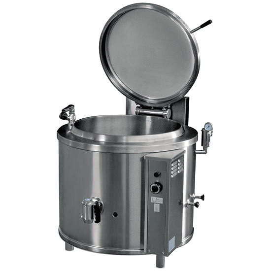 Elektro-Kochkessel, runde Version, indirekte Beheizung, 200 Liter