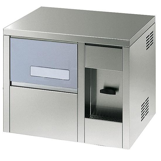 Eiswürfelbereiter mit Wasserdispenser kalt, 21 kg / 24 h