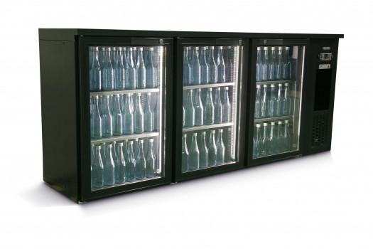 Barkühlschrank 3 Glastüren 537 Liter